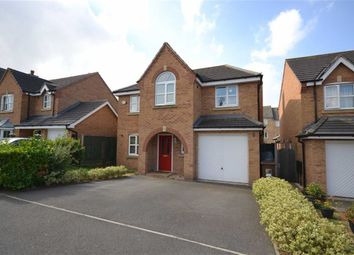 Thumbnail 4 bed detached house for sale in Newmarket Close, Corby, Northamptonshire
