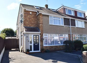 Thumbnail 4 bed semi-detached house for sale in Pendock Road, Winterbourne, Bristol