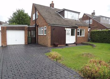 Thumbnail 3 bed detached house for sale in Marina Drive, Marple, Stockport