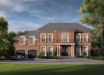 Thumbnail 5 bed detached house for sale in Onslow Road, Burwood Park, Walton On Thames