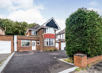 Thumbnail 3 bed detached house for sale in Castle Lane, Solihull