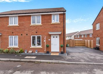 Thumbnail 3 bed semi-detached house for sale in Dragon Rise, Norton Fitzwarren, Taunton