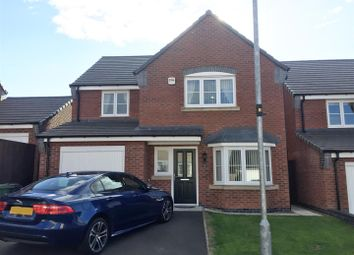 Thumbnail 4 bed detached house for sale in Stanage Road, Sileby, Loughborough