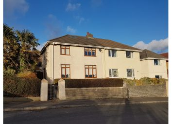 Thumbnail 3 bed semi-detached house for sale in Wern Fawr Road, Port Tennant