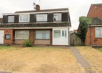 Thumbnail 3 bed semi-detached house to rent in Toddington Road, Luton