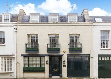 Thumbnail 4 bed mews house for sale in Lyall Mews, Belgravia