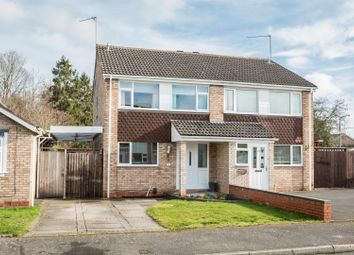 Thumbnail 3 bed semi-detached house for sale in Ledbury Close, Matchbourgh East, Redditch