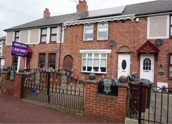 Thumbnail 3 bed terraced house for sale in Wigmore Avenue, Newcastle Upon Tyne