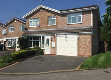 Thumbnail 4 bed detached house for sale in Ensbury Close, Willenhall, West Midlands