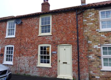 Thumbnail 2 bed terraced house for sale in The Green, Waddingham, Gainsborough