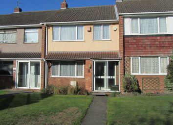 Thumbnail 3 bed terraced house for sale in Rutland Avenue, Nuneaton, Warwickshire