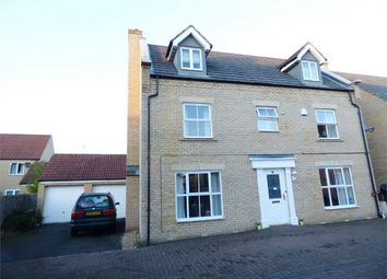 Thumbnail 5 bed town house for sale in Badington Close, British Sugar, Peterborough