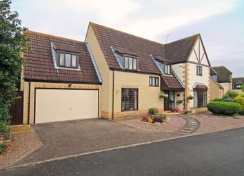 Thumbnail 5 bedroom detached house for sale in The Orchard, Werrington, Peterborough