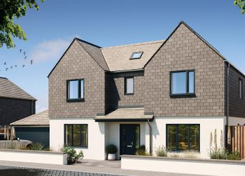 Thumbnail 5 bedroom detached house for sale in Halwyn Road, Crantock, Newquay