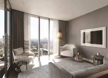 Thumbnail 2 bed flat to rent in Sky Gardens, 155 Wandsworth Road, London