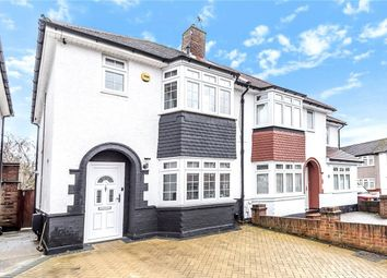 Thumbnail 3 bed semi-detached house for sale in Lea Crescent, Ruislip