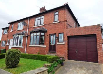 Thumbnail 3 bed semi-detached house for sale in Church Garth, Glasshoughton, Castleford