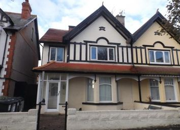 Thumbnail 2 bed flat for sale in Great Ormes Road, Llandudno, Conwy