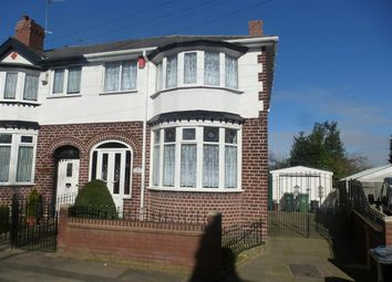 Thumbnail 3 bed end terrace house for sale in Vicarage Road, Wednesbury