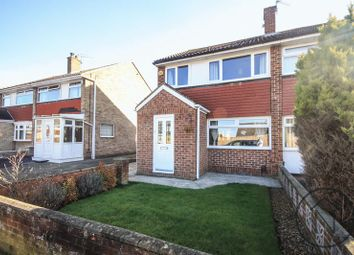 Thumbnail 3 bed semi-detached house for sale in Malton Drive, Stockton-On-Tees