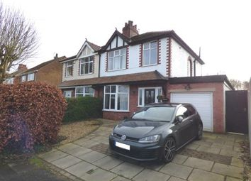 Thumbnail 3 bed semi-detached house for sale in Cage Lane, New Longton, Preston