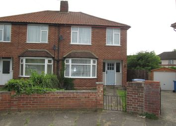 Thumbnail 3 bed semi-detached house to rent in Anita Close West, Ipswich