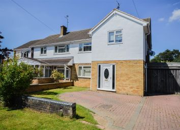 Thumbnail 3 bedroom semi-detached house for sale in Atherstone Avenue, Netherton, Peterborough