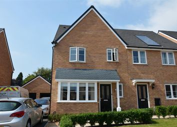 Thumbnail 3 bed semi-detached house for sale in Alnwick Close, Rushden