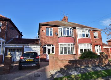 Thumbnail 3 bed semi-detached house for sale in Grange Park Avenue, Fulwell, Sunderland
