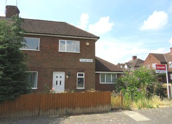 Thumbnail 3 bed semi-detached house for sale in Totland Road, Leicester