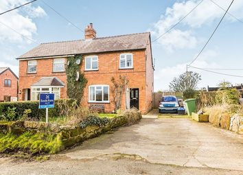 Thumbnail 3 bed semi-detached house to rent in Prees Road, Calverhall, Whitchurch