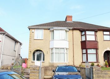Thumbnail 3 bed semi-detached house to rent in Cecil Road, Gowerton, Swansea