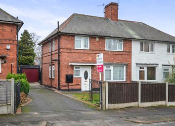 Thumbnail 3 bed semi-detached house for sale in Brayton Crescent, Bulwell, Nottingham