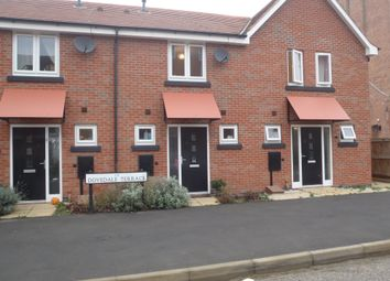 Thumbnail 2 bedroom terraced house to rent in Dovedale Terrace, Fernwood, Newark