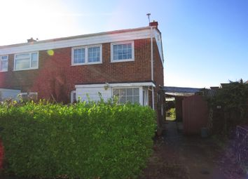 Thumbnail 3 bedroom semi-detached house for sale in Cere Road, Sprowston, Norwich