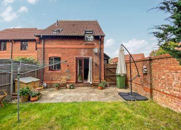 Thumbnail 1 bed terraced house for sale in Pegasus Close, Hamble, Southampton
