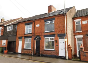 Thumbnail 3 bed terraced house for sale in Central Road, Hugglescote, Coalville