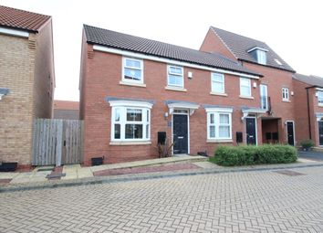 Thumbnail 3 bed semi-detached house for sale in Greenwich Park, Kingswood, Hull