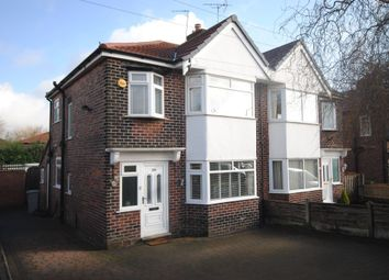 Thumbnail 3 bedroom semi-detached house to rent in Dane Road, Sale