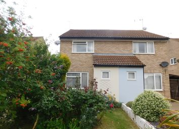 Thumbnail 2 bed semi-detached house for sale in Ludbrook Close, Stowmarket