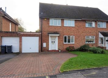 Thumbnail 3 bed semi-detached house for sale in Tennal Drive, Birmingham