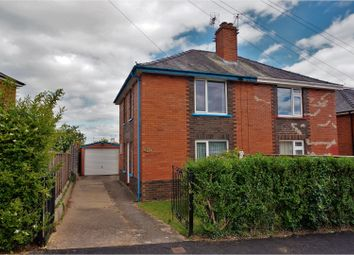 Thumbnail 2 bedroom semi-detached house for sale in Bowhay Lane, Exeter