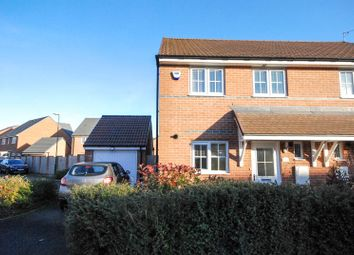 Thumbnail 3 bed semi-detached house for sale in Bedeswell Close, Hebburn
