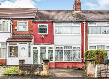 Thumbnail 3 bed terraced house for sale in Hacking Street, Salford, Manchester, Greater Manchester