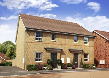 "Thumbnail 3 bed semi-detached house for sale in ""Folkestone"" at London Road, Hook"