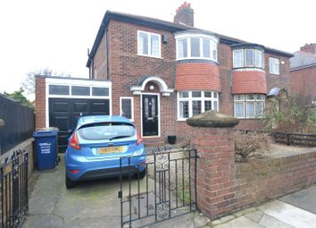 Thumbnail 3 bed semi-detached house for sale in Boundary Gardens, High Heaton, Newcastle Upon Tyne