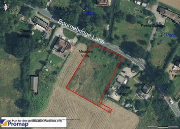 Thumbnail Land for sale in Land Adjacent To Meadow View, Bournebridge Lane, Stapleford Abbotts, Essex