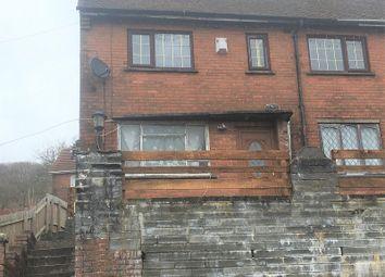 Thumbnail 2 bedroom semi-detached house for sale in Danycoed, Ystrad, Pentre, Rhondda Cynon Taff.