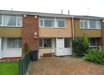 Thumbnail 3 bedroom terraced house to rent in Frome Way, Kings Heath, Birmingham