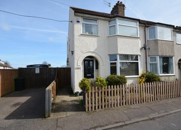 Thumbnail 3 bedroom semi-detached house for sale in Colville Road, Lowestoft